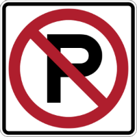 No Parking Sign Image